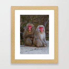 Gasp! Framed Art Print