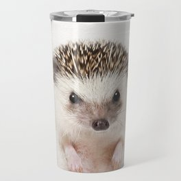 Baby Hedgehog, Baby Animals Art Prints by Synplus Travel Mug