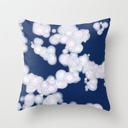 Cloudy Night Throw Pillow