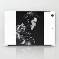 elvis iPad Cases featuring Elvis by JeleataNicole