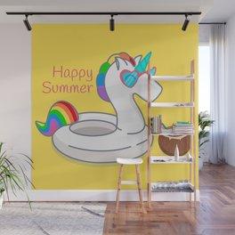 HAPPY SUMMER Wall Mural