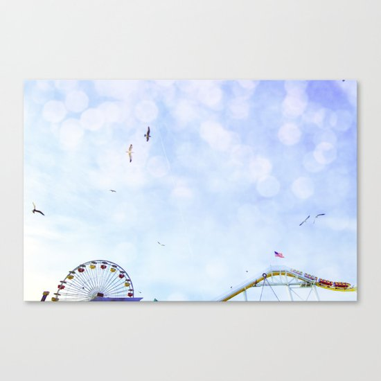 Carnival In The Sky  Canvas Print