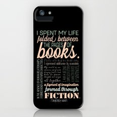 Folded Between the Pages of Books - Pastel iPhone (5, 5s) Slim Case