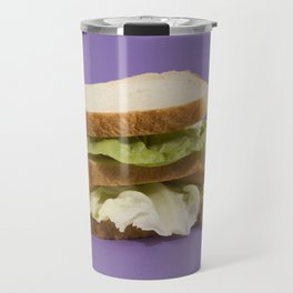 Ultraviolet Sandwich Doll Travel Mug