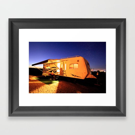 The Palace of Fine Arts Framed Art Print