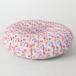 Polly Pocket Pattern Floor Pillow