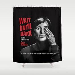 Dark Shower Curtain