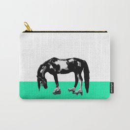 Funny Sad Skater Horse Carry-All Pouch