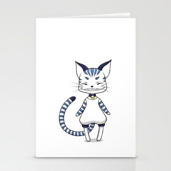 Smiling Cat Stationery Cards