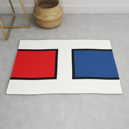 H stands for HELL - francaise - Living Hell Rug