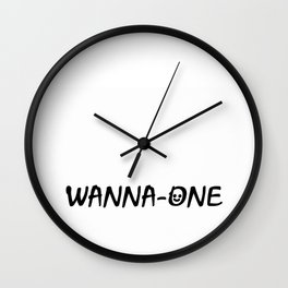 WANNA-ONE Wall Clock