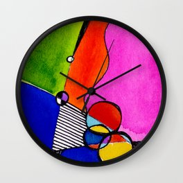 Magical Thinking 7A1 by Kathy Morton Stanion Wall Clock