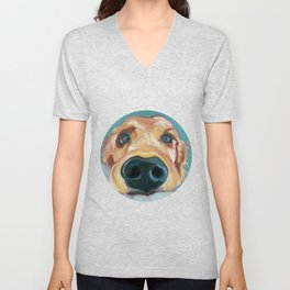 Puppy Nose Unisex V-Neck