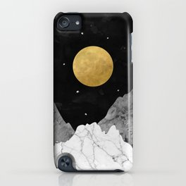 Moon and Stars iPhone Case