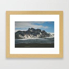 lost in Iceland Framed Art Print