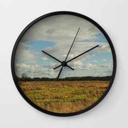 Field of Beauty Wall Clock