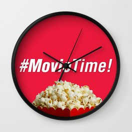 #MovieTime! Wall Clock