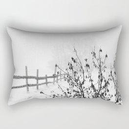 Snowy Landscape Rectangular Pillow