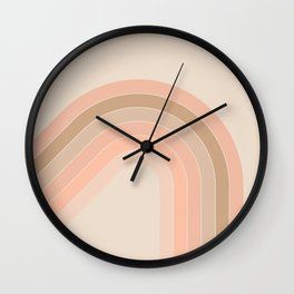 Soft Light Corner Bow Wall Clock