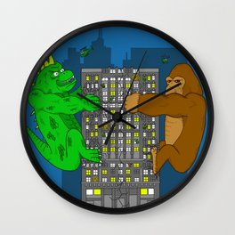 RAMPAGE Wall Clock