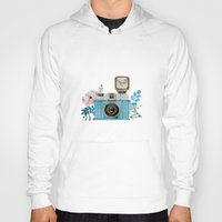 vintage camera Hoodies featuring Camera Vintage by Celosa Art