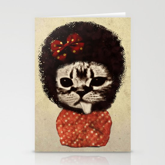 Cat (Pack-a-cat) Stationery Cards