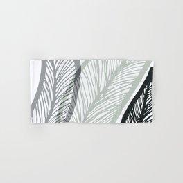 Sway To The Beat / Bold Banana Leaf Hand & Bath Towel