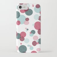 polka iPhone & iPod Cases featuring Polka by Nichole B.