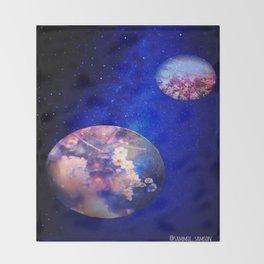 Let Me See What Spring Is Like On Jupiter & Mars Throw Blanket