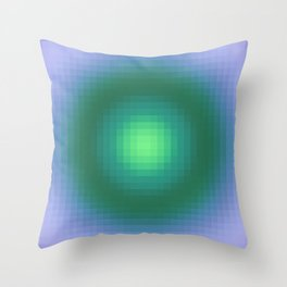 Ripple IV Pixelated Throw Pillow