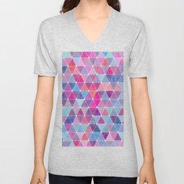 Lovely geometric Pattern Unisex V-Neck