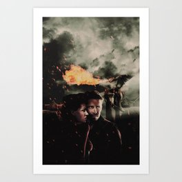 Outlaw Queen : The Drago Art Print
