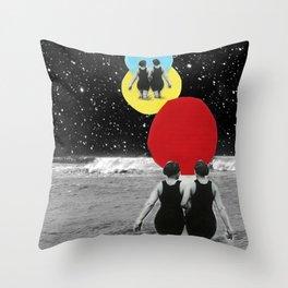 ladies Throw Pillow