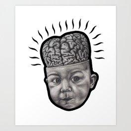 "Henry ""the brain"" Art Print"