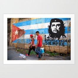 Hasta Siempre - Che Guevara- Havana - Cuba Art Print