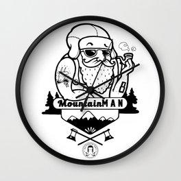 Mountain man Wall Clock