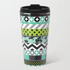 Washi Tape Travel Mug
