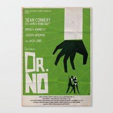 Green Dr No Canvas Print
