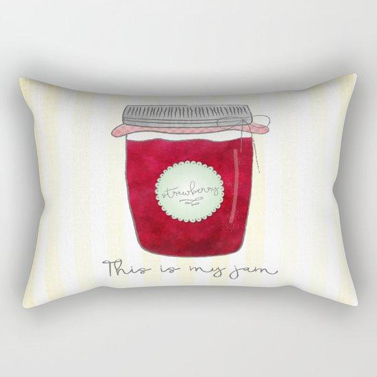 This is my jam Rectangular Pillow