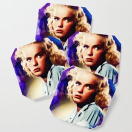 Anne Francis, Vintage Actress Coaster