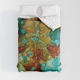 flora beginnings Abstract Comforters