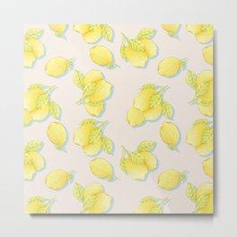 Limões Metal Print