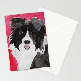 Border Collie Stationery Cards