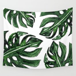 BANANA TROPICAL LEAVES Wall Tapestry