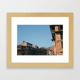 Bhaktapur Framed Art Print