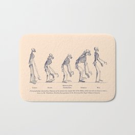 Evidence as to Man's Place in Nature - T. H. Huxley 1863 Bath Mat