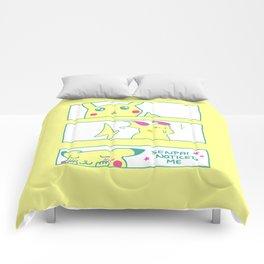 Teenage Poke Romance Comforters