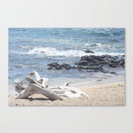 White Beach- Hawaii Canvas Print
