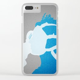 Royal Nose Gas Mask Clear iPhone Case