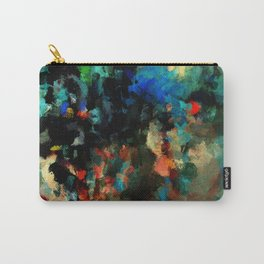 Colorful Landscape Abstract Painting Carry-All Pouch